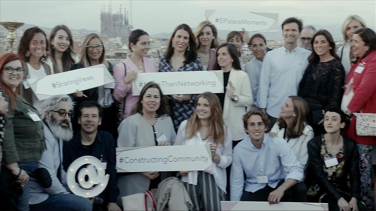 Encuentro de influencers en favor del Hospital Sant Joan de Déu.