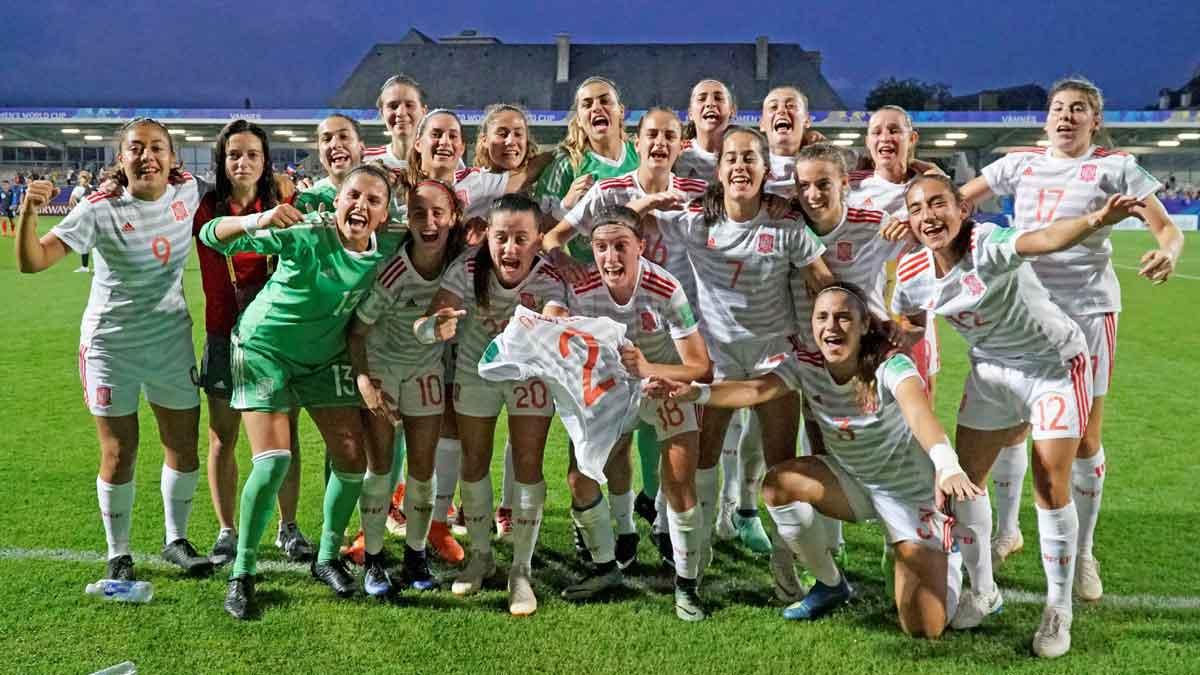 España, favorita para ganar la final del Mundial Sub-20 de fútbol femenino.