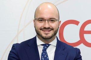 Fermín Albaladejo es el presidente de la Confederación Española de Asociaciones de Jóvenes Empresarios (CEAJE)