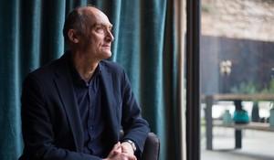 El filósofo Josep Maria Esquirol en un céntrico hotel de Barcelona.
