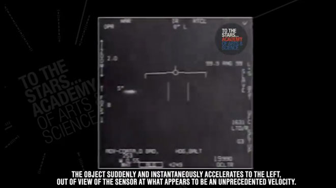 'FLIR1'. Vídeo de ovnis reconocidos por la Marina de Estados Unidos.