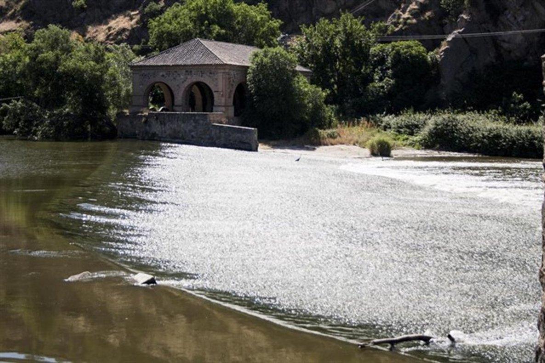 El Río Tajo, a su paso por Toledo.