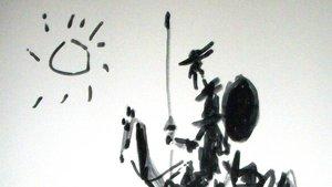 Fragmento del 'Quijote' visto por Picasso.