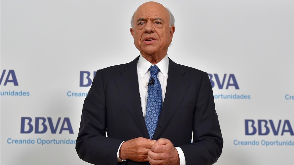 El expresidente del BBVA Francisco González.