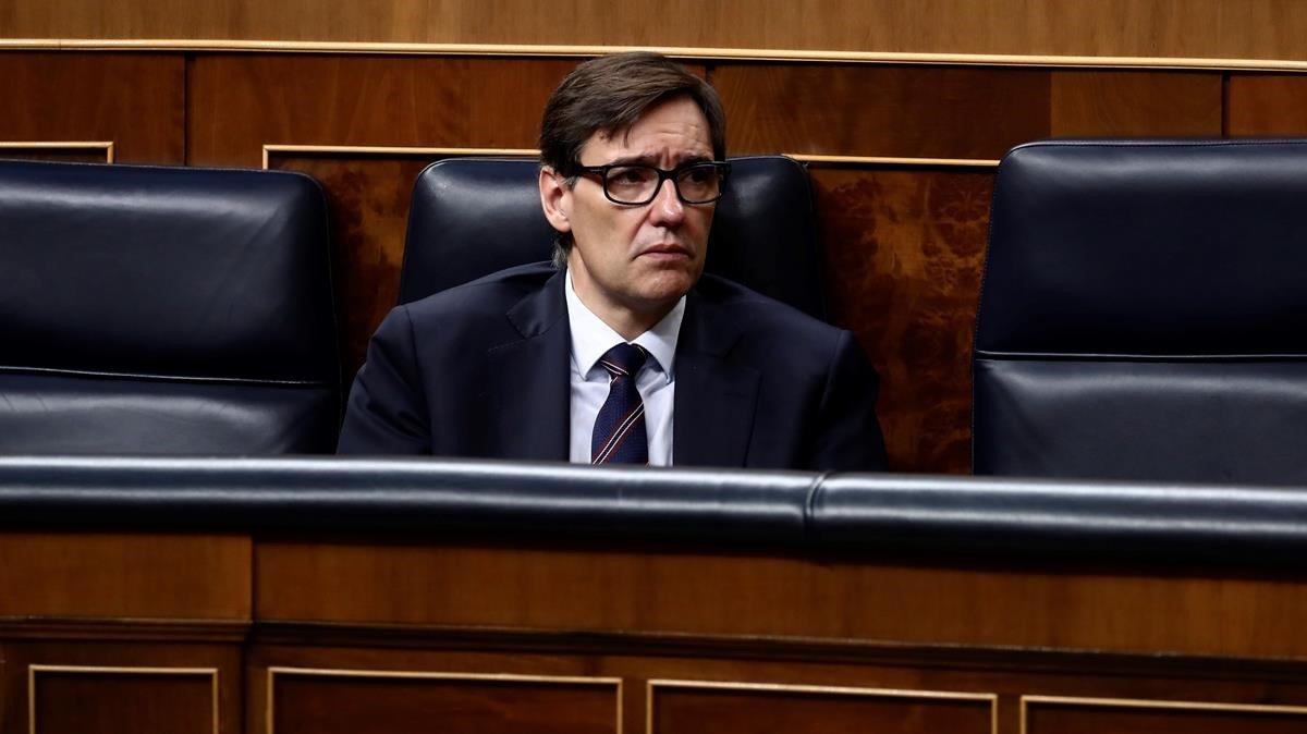 El ministrode Sanidad, Salvador Illa.