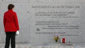 Un homenaje a las víctimas del 11-M.
