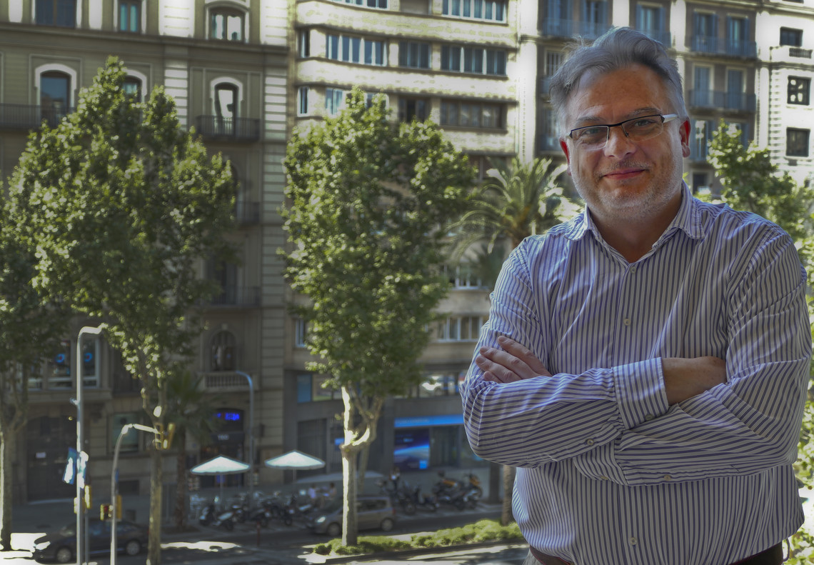 Hugues Salord, director general de SantéVet en España.