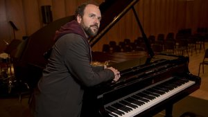 El pianista Roger Mas, en el Conservatori del Liceu, esta semana.