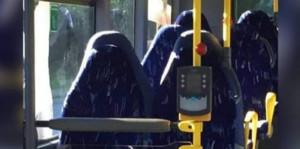 La imagen de un autobús vacío que se ha convertido en viral.
