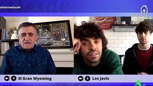 """Wyoming cuenta a Los Javis su desconocida anécdota con La Veneno: """"Estaba repartiendo hostias como un molino"""""""