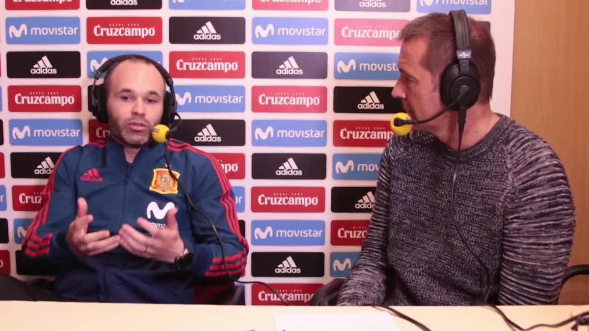 Andrés Iniesta abordó anoche en una entrevista en El Larguero de la SER su futuro futbolístico.