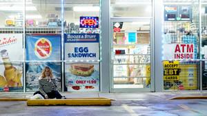 La actriz Debbie Ryan, en la serie de Netflix 'Insaciable'.