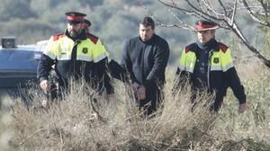 Reconstrucción del crimen de los dos agentes rurales.