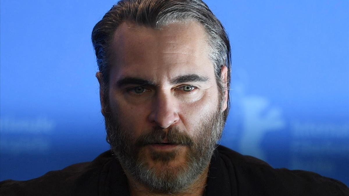Joaquin Phoenix, en la Berlinale, el pasado mes de febrero