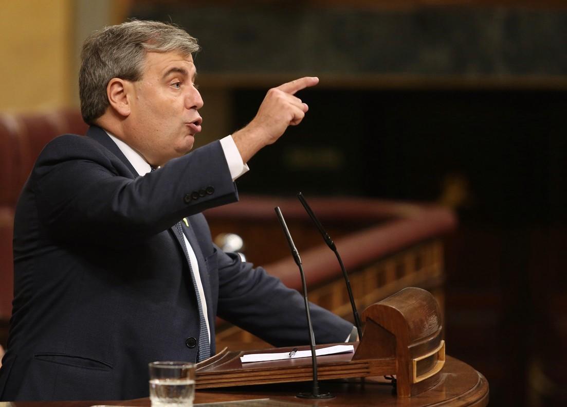 En la foto Jordi Xuclà,el portavoz adjunto de PDECat.
