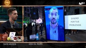 'La resistencia: Jorge Ponce se protege del coronavirus 'saliendo' a la calle a través de un monitor