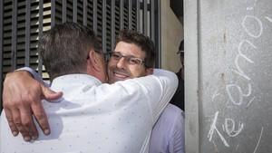 Jorge Rodríguez, tras quedar en libertad con cargos.