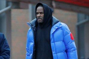 El cantante R. Kelly en la prisión de Chicago.