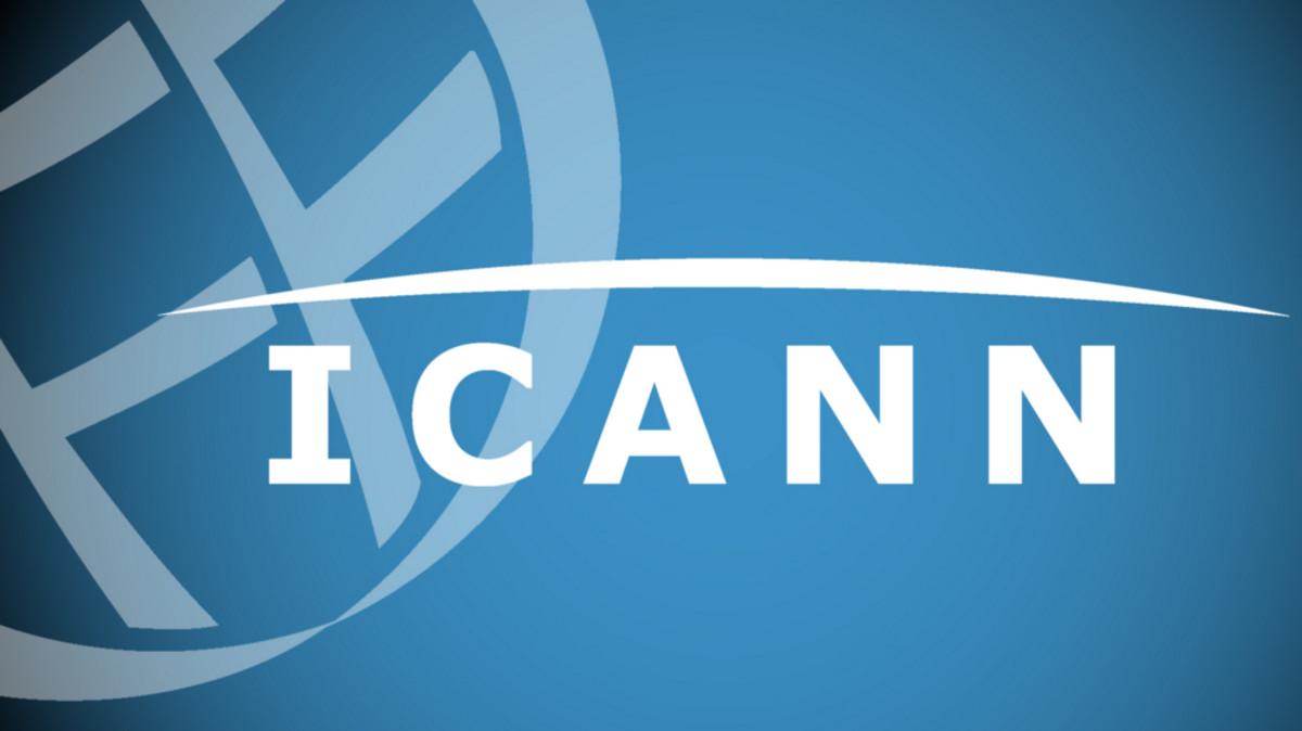 Logotipo del ICANN.