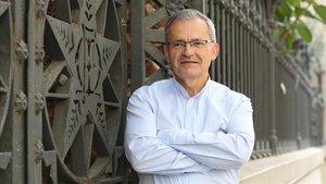 Luis Rodríguez, en su visita a Barcelona.