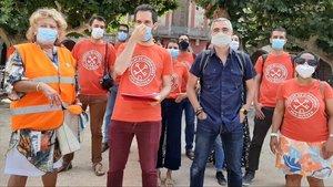 manifestación del Sindicat de llogaters