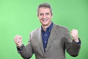 El periodista Manolo Lama, presentador del nuevo programa deportivo delcanal Gol.