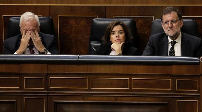 Margallo: Sería absurdo que yo creyese que Soraya es la mejor candidata