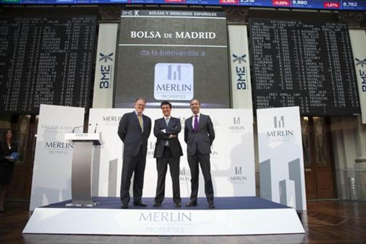 Merlín coloca a 300 millones en bonos a 12 años