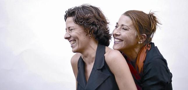 Miriam Iscla y Emma Vilarasau, protagonistas de la obra Barcelona.