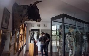 El museo de laplaza de toros Monumental, en Barcelona, este jueves.