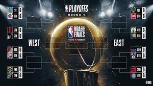 Així queden els 'play-off' de l'NBA
