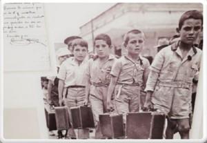Imatgede lexposició Els nens de la guerra.
