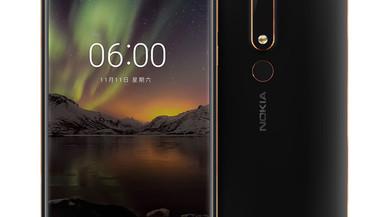 Nokia mejora la velocidad de sus 'smartphones' con el Nokia 6