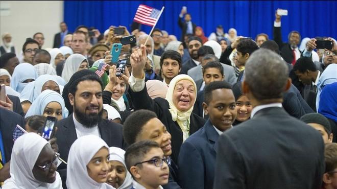 Obama en la mezquita