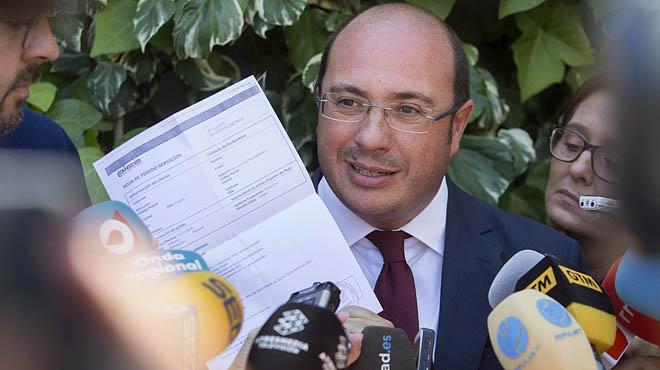 Pedro Antonio Sánchez declara ante el TSJM por la operación púnica.