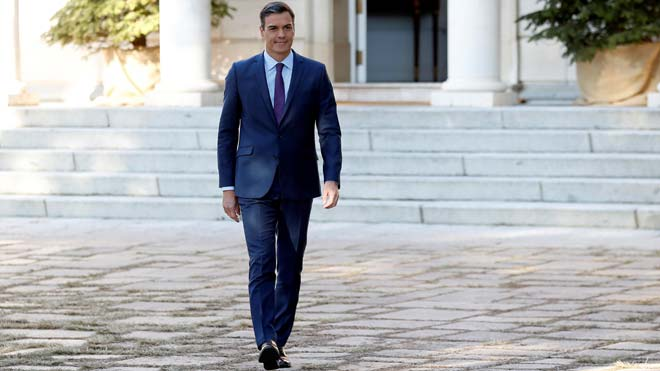 Pedro Sánchez asegura que Borrell podría ser un extraordinario candidato a las europeas.
