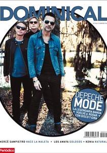 Portada del Dominical del 7 de abril, con Depeche Mode como protagonista.