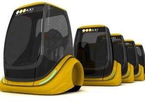 Robo Taxi. Prototipo diseñado por Kubik Petr.