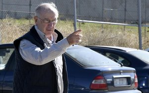 Rodrigo Rato llega a la cárcel de Soto del Real el pasado octubre.