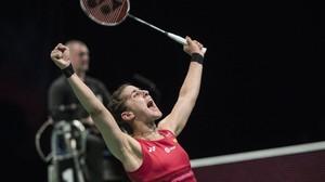 Carolina Marín logra su tercer título europeo