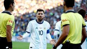 Messi torna a la selecció argentina per jugar contra el Brasil i l'Uruguai