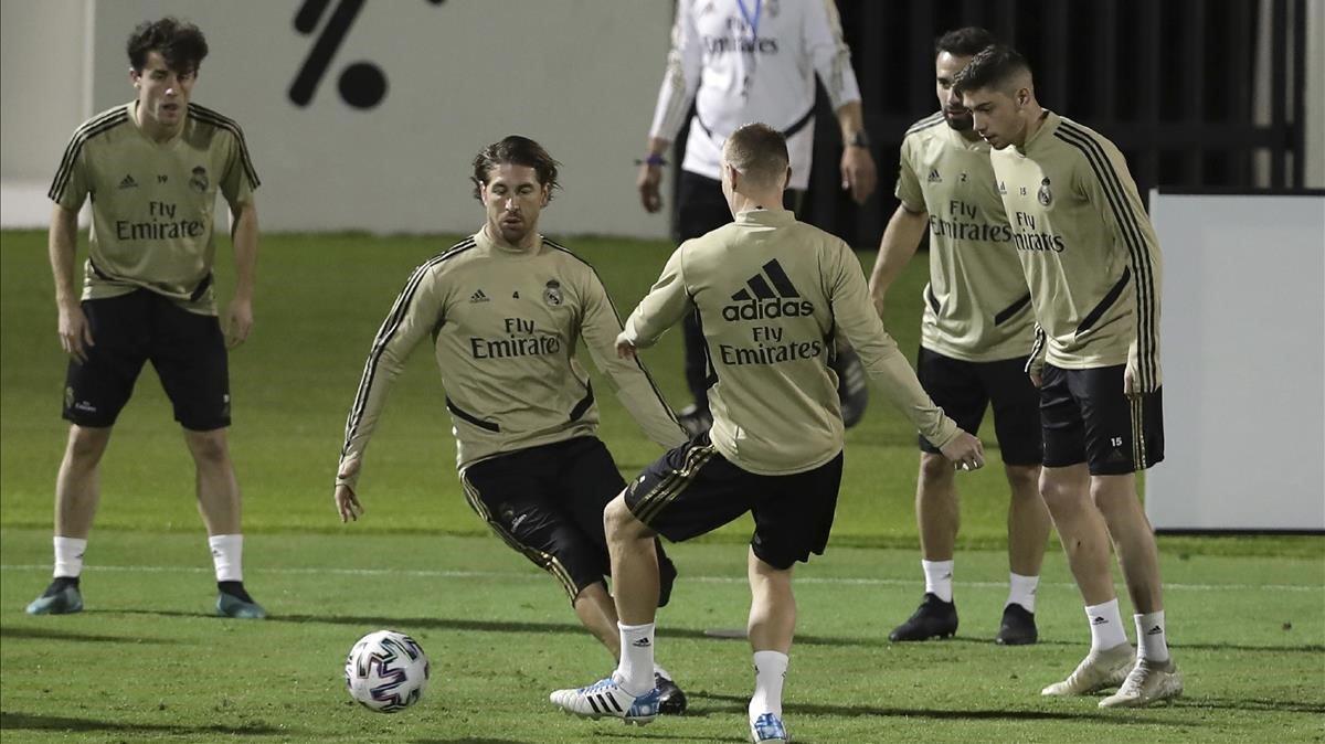 Reial Madrid: Sevilla: horari i on veure a TV