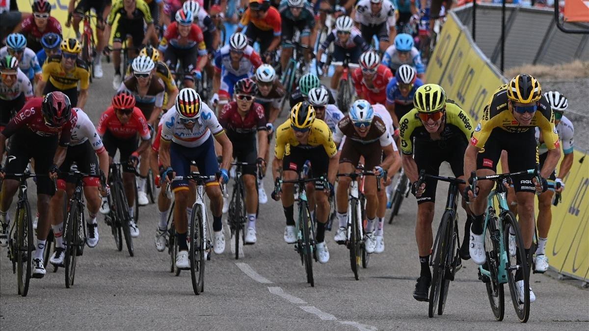 Van Aert prossegueix el seu estiu fantàstic al Dauphiné