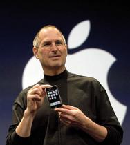 Steve Jobs, en el 2007, presentando el primer iPhone.