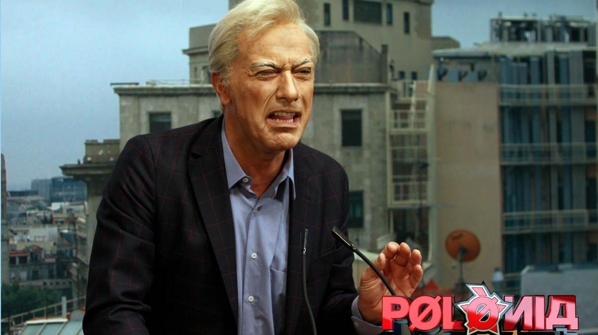 Imagen promocional del programa de sátira política de TV-3 Polònia.