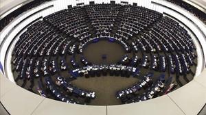 Imagen del pleno del Parlamento Europeo de Estrasburgo.