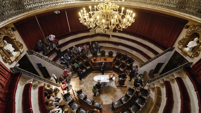 Una visita espectacular al Anfiteatro Anatómico de la Real Academia de Medicina de Catalunya del S.XVIII