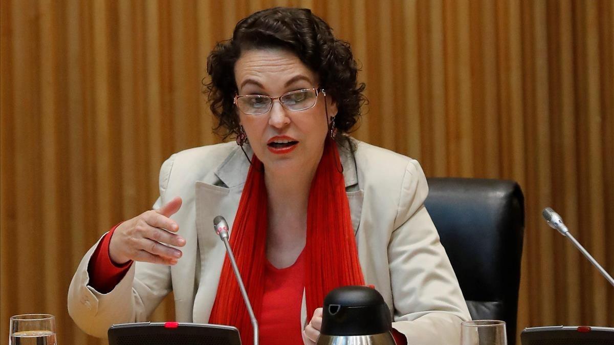 La ministra de Trabajo Migraciones y Seguridad Social,Magdalena Valerio.