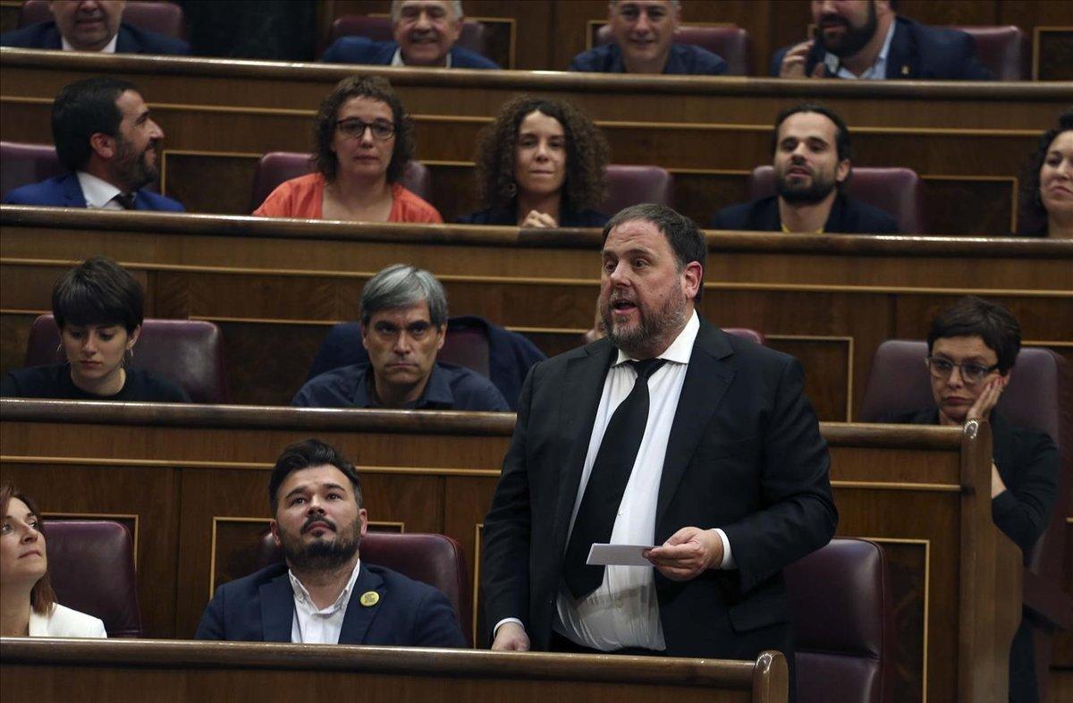 La Junta de Portaveus del Congrés es reuneix per primera vegada per debatre la suspensió dels diputats presos