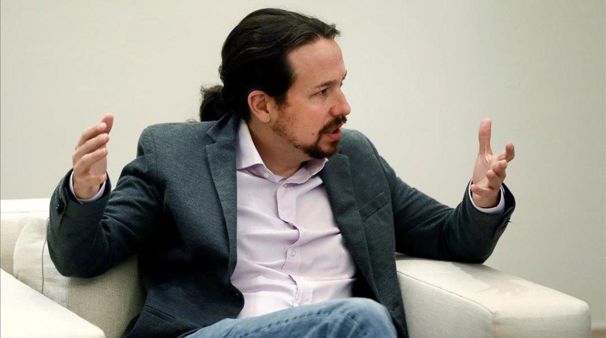 """Iglesias: """"Es una tomadura de pelo que Sánchez y Torra no quieran hablar"""""""